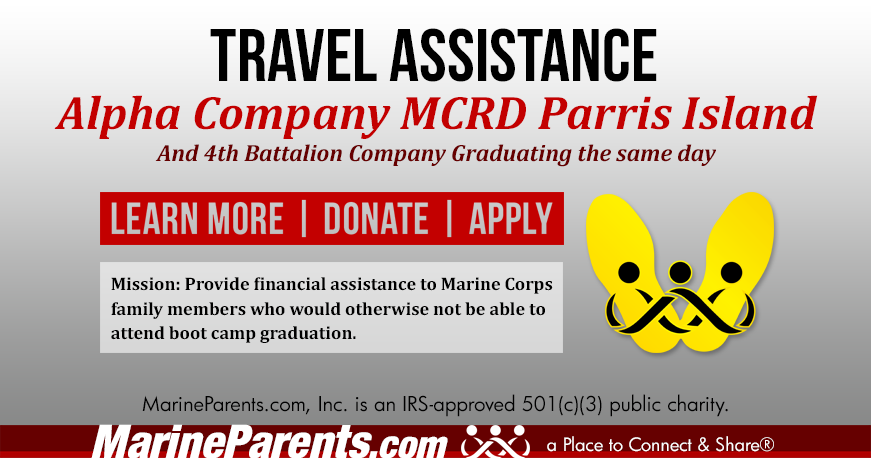 Alpha Company Parris Island Graduation 06-04-2021