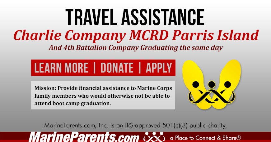 Charlie Company Parris Island Graduation 04-10-2020
