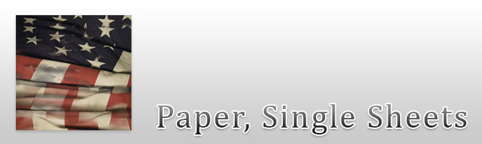 Paper, Single Sheets