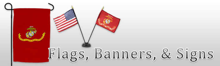 3753f4250fb Garden Flags with Marine Corps Themes