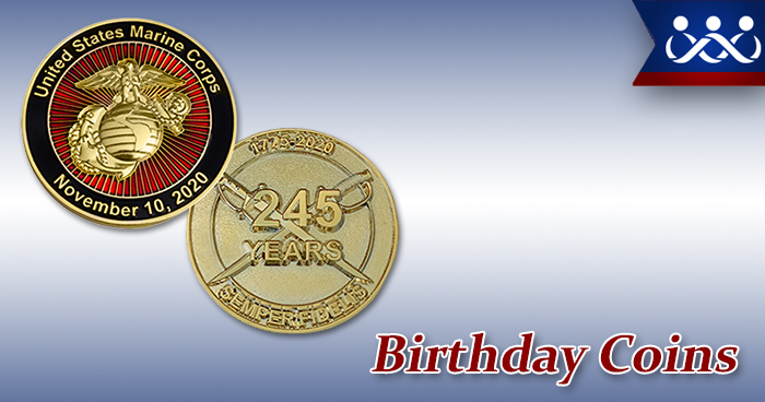 Birthday Coins
