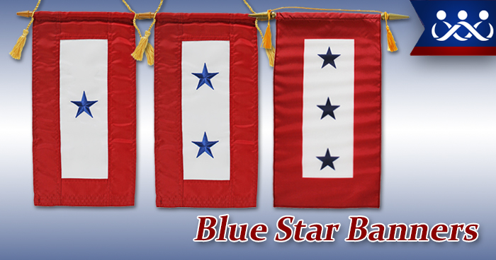 Blue Star Banners