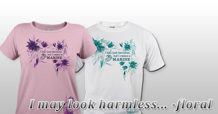 I may look harmless... -floral