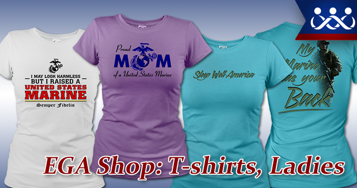 Ours: T-Shirts, Ladies