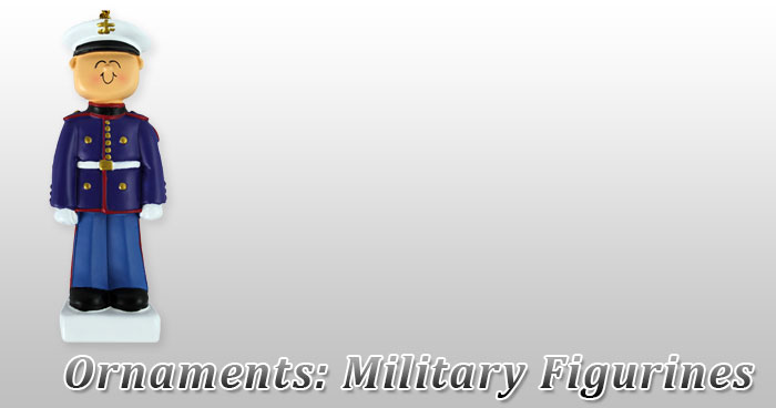 Ornaments: Military Figurines