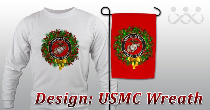 Design: USMC Wreath