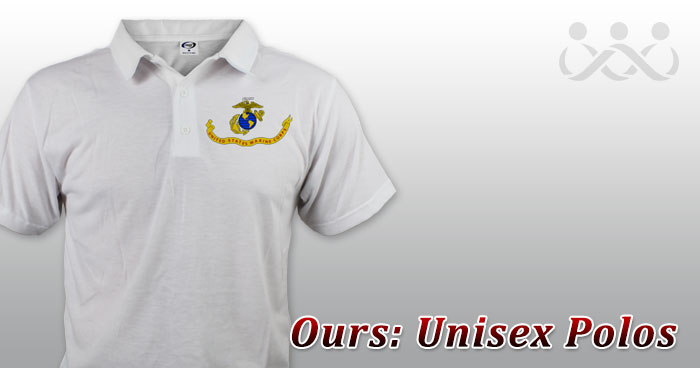 Ours: Unisex Polos