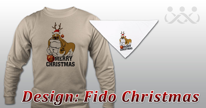 Design: Fido Christmas
