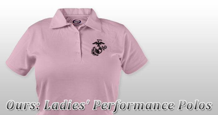 Ours: Ladies' Polos