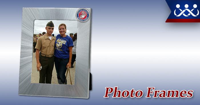Custom Marine Corps Photo Frames