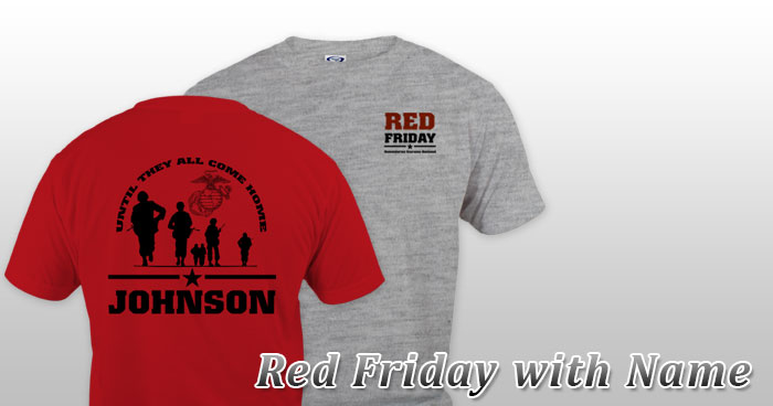 Red Friday with Name