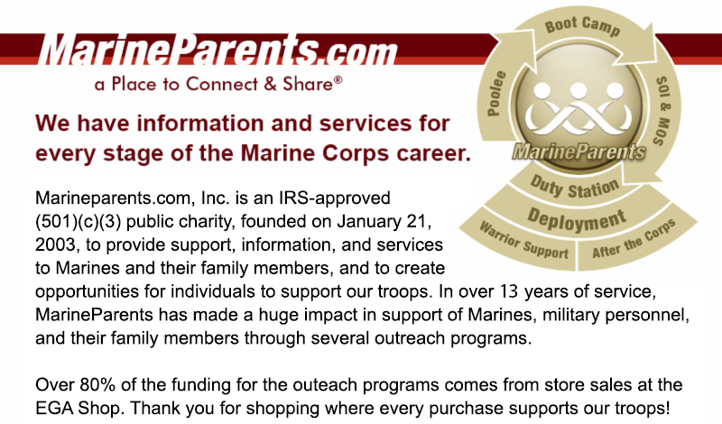 marine parents footer