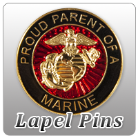 Marine Corps Lapel Pins and Buttons