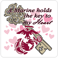 A Marine Holds the Key to My Heart