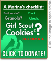 Donation, Girl Scout Cookie Campaign, Care Package Project