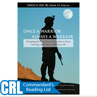 Once a Warrior--Always a Warrior: Navigating the Transition from Combat to Home