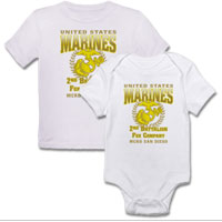 _Customized T-Shirt/Onesie (Toddler/Baby): 2nd Recruit Btn