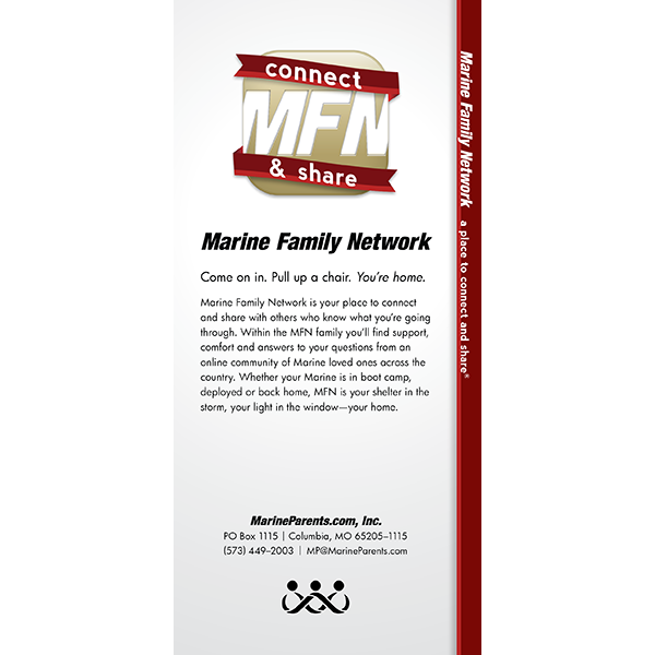 Outreach Rackcard: Marine Family Network