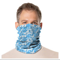 Gaiter Face Mask: Camo Colors