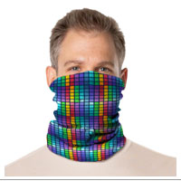 Gaiter Face Mask: Colorful