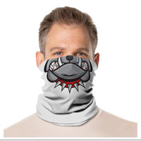 Gaiter Face Mask: Mouths & Illusions