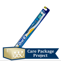 Care Package Project Content: Toothbrush (Pkg of 4)