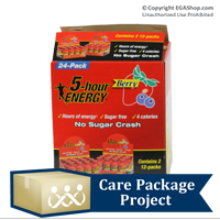 Care Package Project Content: 5-hour Energy (Box of 24)