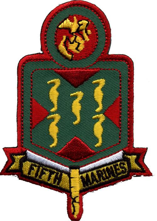 Garden Flag: 5th Marine Regiment