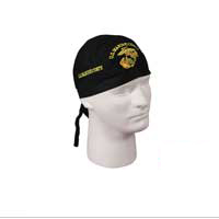 Headwrap: Marine Corps (Embroidered)