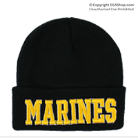 Watch Cap: Marines (Embroidered)