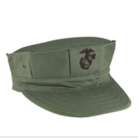 Cap: 8-Point Cover (ADULT, EGA on olive drab)