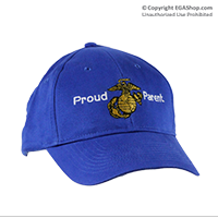 Royal Blue Cap, Proud Parent