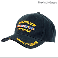 Cap: Campaign Veteran (OIF Operation Iraqi Freedom)