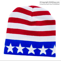 Knit Hat: Stars and Stripes