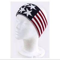 Ear Warmer, Knit: Patriotic