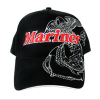 Cap: Deluxe Marines Globe & Anchor (Low Profile)