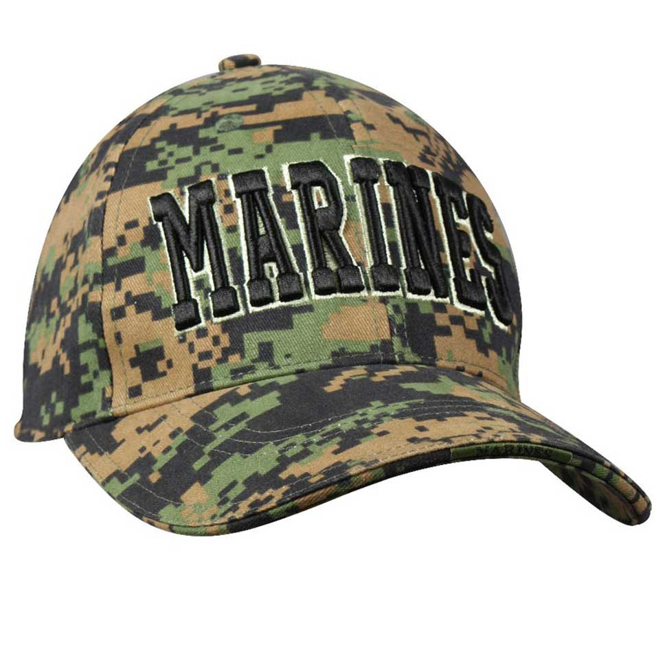 Cap: Marines on Woodland Digital
