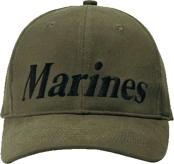 Marines on Olive Drab hat