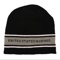 Knit Hat: United States Marines (embroidered)