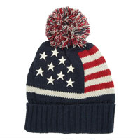 Cap: Knit Stars and Stripes