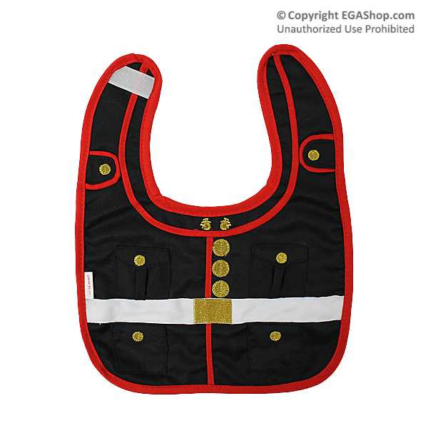 Baby Bib: US Marine Corps Dress Blues