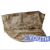 Cap: 8-Point Cover (YOUTH, camo desert)