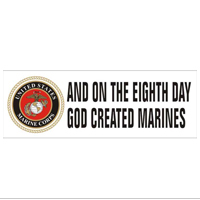 Bumper Sticker: And on the 8th day...