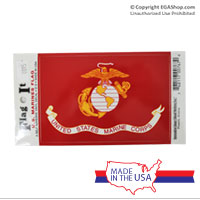 Z Decal, Marine Corps Flag
