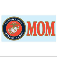 Decal, USMC Seal Mom