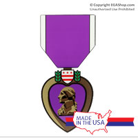 Decal, Purple Heart