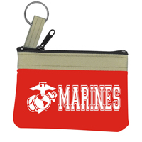 Key Chain: Red Mini Tote with Marines and EGA