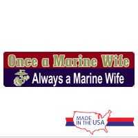 Auto Magnet: Once a Marine Wife, Always a Marine Wife