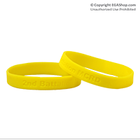 Wristband: 2nd Btn MCRD (Yellow)