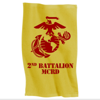Rally Towel: 2nd Recruit Btn (Yellow)